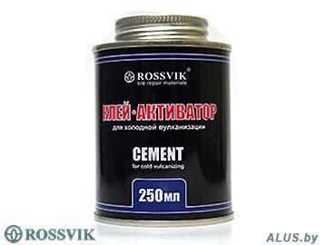 Клей-активатор для холодной вулканизации, 250 мл/340 г (банка с кистью), ROSSVIK купить оптом в Минске